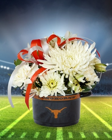 Texas sports team flowers gifts in bloom flowers gifts and more quick view hook em bowl negle Gallery