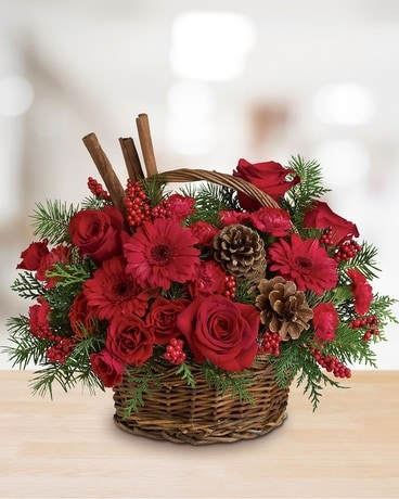 Berries & Spice Flower Arrangement