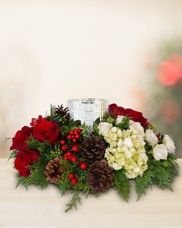 Festive Gathering Flower Arrangement