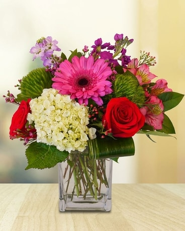 Flirtatious Flower Arrangement