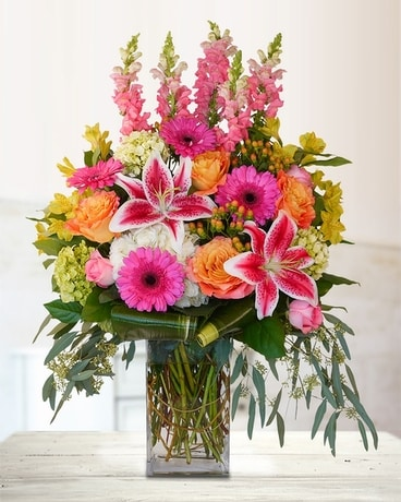 Breathless Flower Arrangement