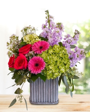 Cottage Square Flower Arrangement