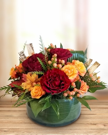 Fabulous Fall Centerpiece Flower Arrangement