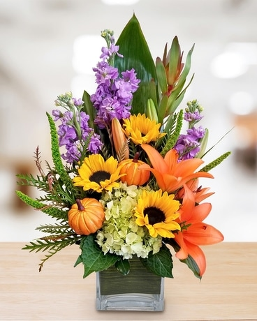 Copper Canyon Flower Arrangement