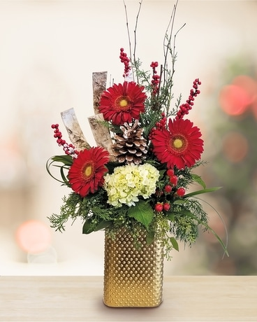 Brilliant Greetings Flower Arrangement