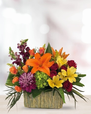 Autumn Garden Flower Arrangement
