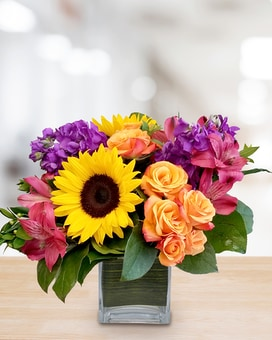 Fiesta Flower Arrangement