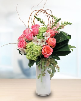 Shades of Sorbet Flower Arrangement