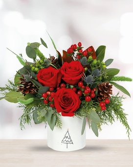Merry Moments Flower Arrangement