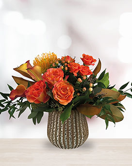 Orange You Wonderful! Flower Arrangement