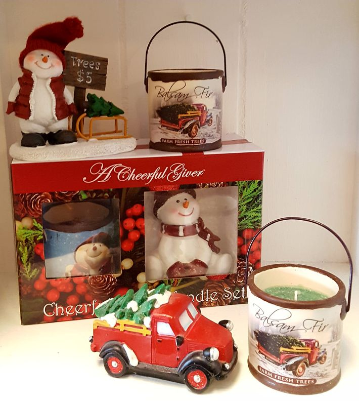 Holiday Candle Set