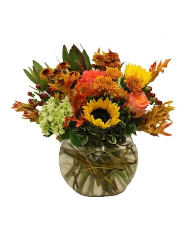 Sweater Weather Flower Arrangement