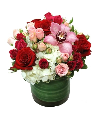 Love You More Flower Arrangement