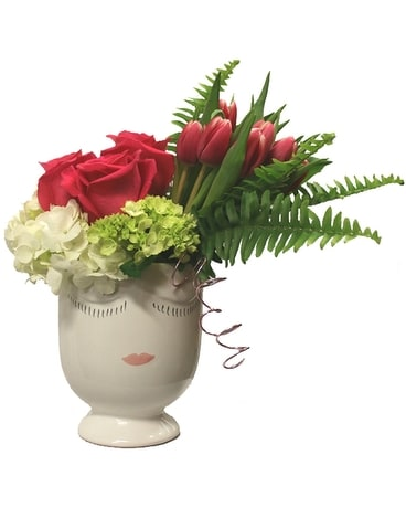 Pretty Lady Flower Arrangement