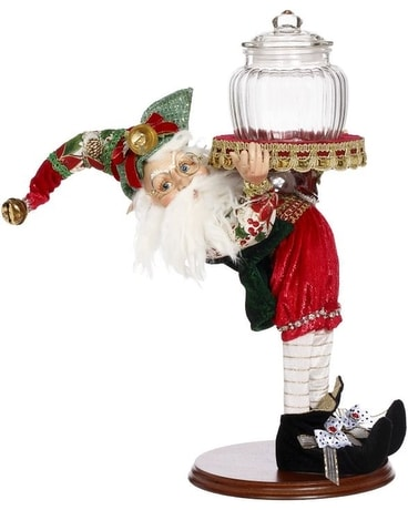 Stocking Elf Candy Jar Gifts