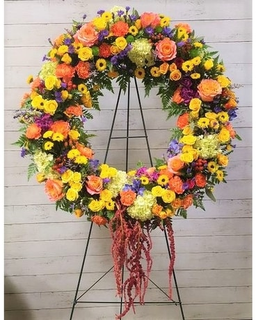 Vivid Memories Sympathy Arrangement