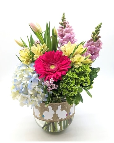 Hoppy Easter Flower Arrangement