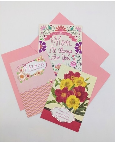 Mother's Day Card Gifts