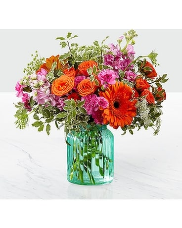 FTD Aqua Escape Flower Arrangement