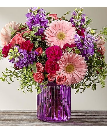 FTD The Purple Prose Flower Arrangement