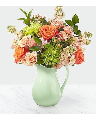 FTD Pop of color Flower Arrangement