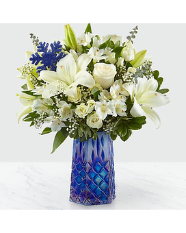 FTD Winter Bliss Flower Arrangement