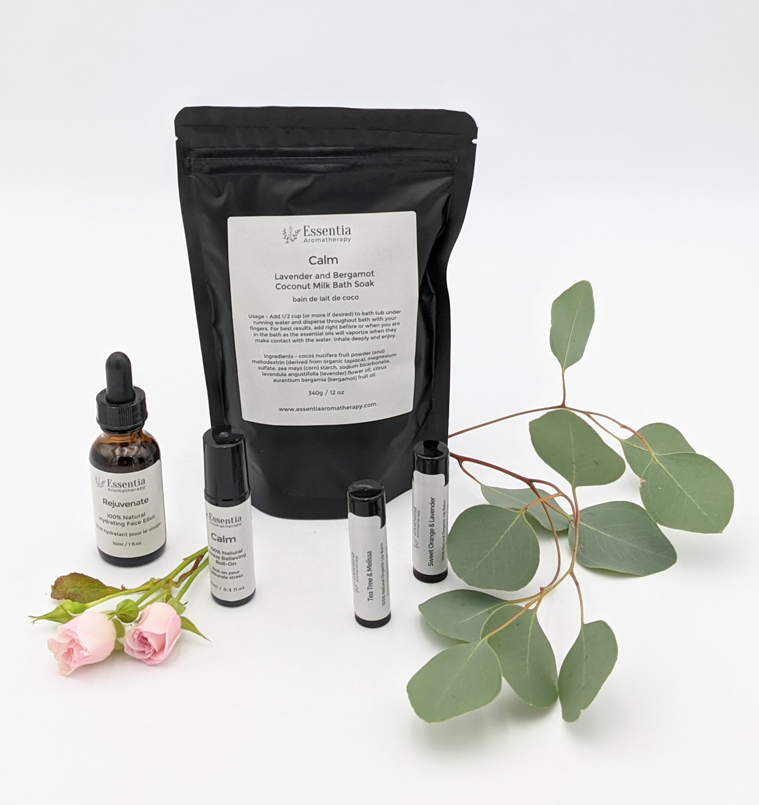 Calm Natural Luxury Gift Set