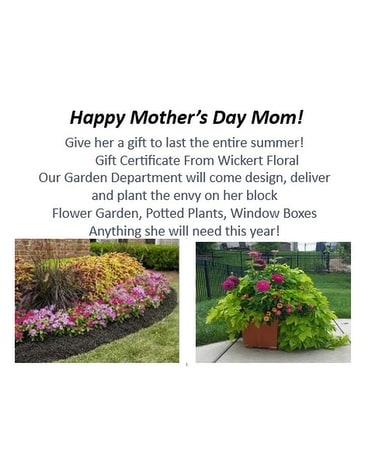 Mother S Day Annual Planting Gift Cert