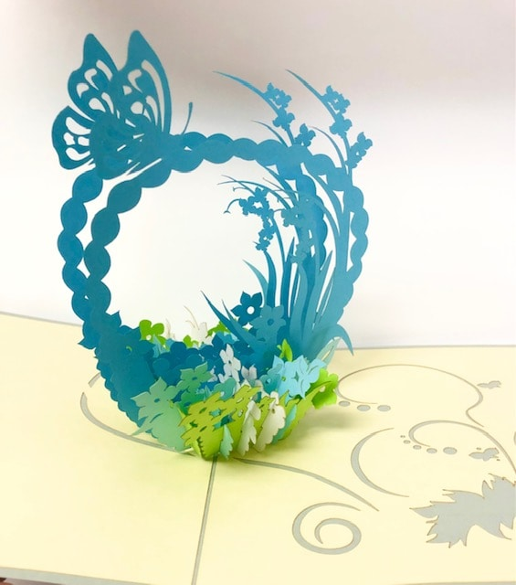 3 D pop up card