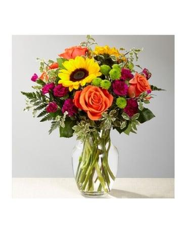 The FTDR Color CrazeTM Bouquet