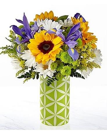 Quick View The FTDR Sunflower SweetnessTM Bouquet Flower Arrangement