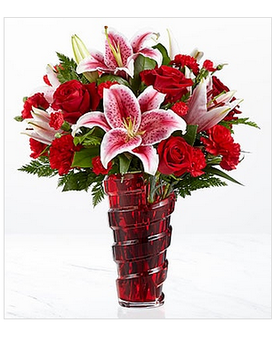 Lasting Romance® Bouquet DELUXE by FTD® Flower Arrangement
