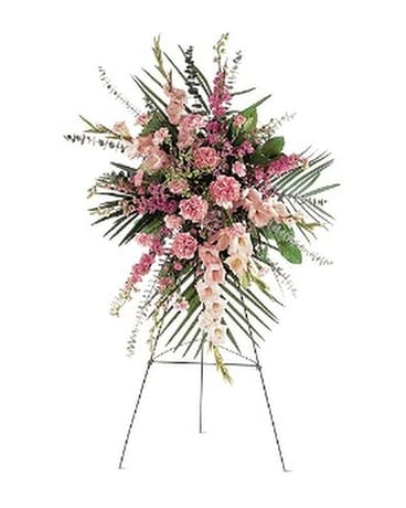 Pink Promise Spray Flower Arrangement