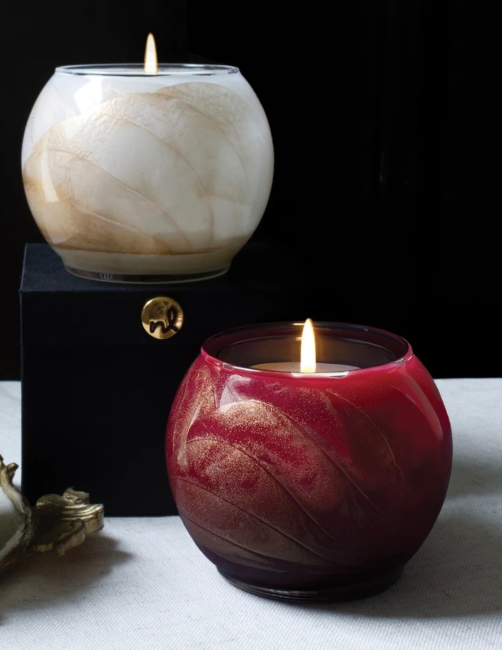 Northern Lights Esque Candle & Gift Box