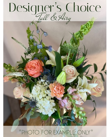 Designer's Choice - Tall & Airy Flower Arrangement