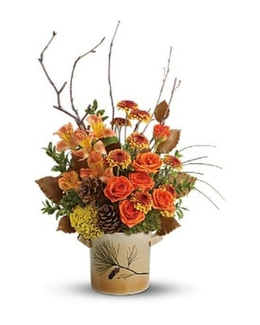 Teleflora's Pine for Me Bouquet Flower Arrangement
