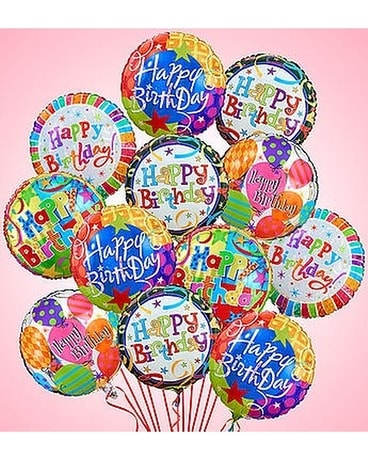 Happy Happy Birthday Balloons Custom product