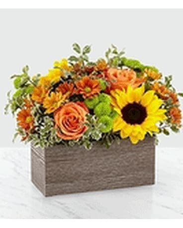 Happy Harvest Garden Flower Arrangement