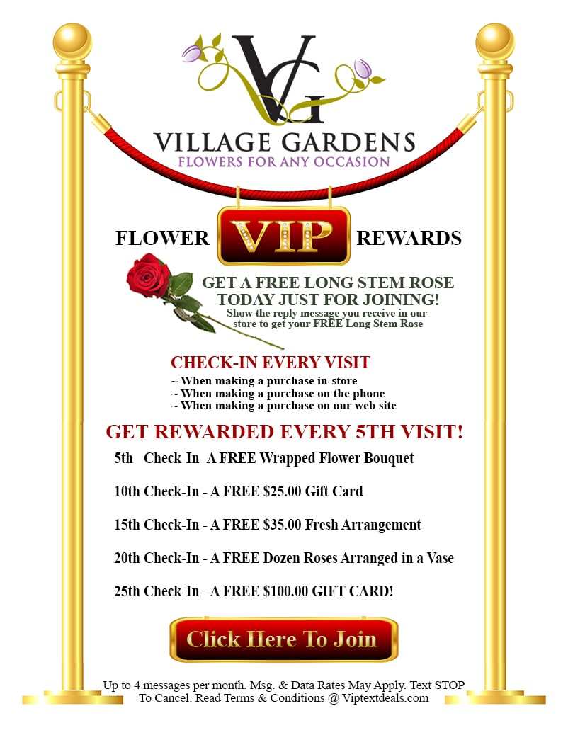 Vip Rewards Page Village Gardens