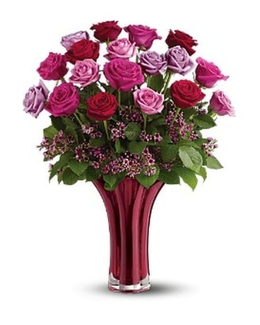 Teleflora's Ruby Nights Bouquet Custom product