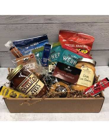 Dad's Love Snacks Gift Basket