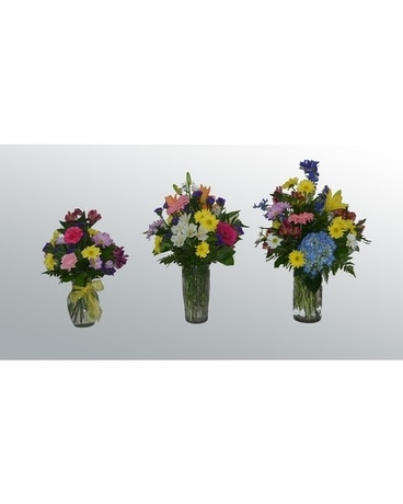 Petal Present Program Flower Arrangement