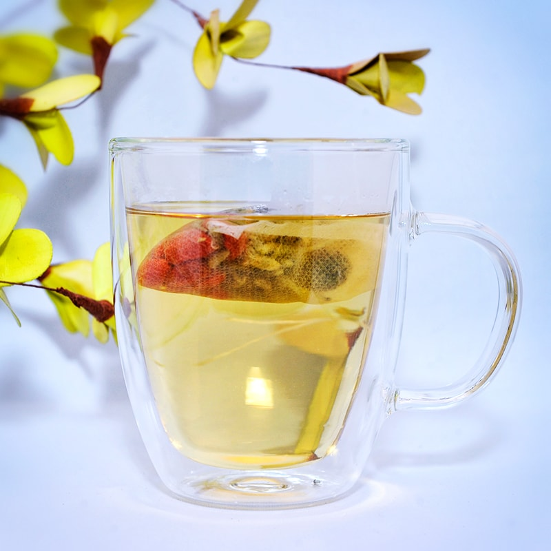 Specialty Tea: Cleanse Me (Chrysanthemum,honeysuckle,goji berries) No Caffeine