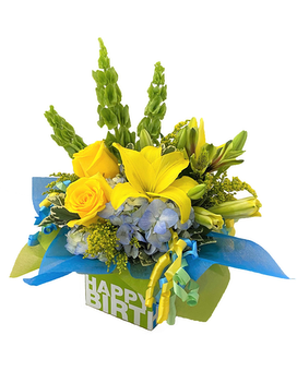 Birthday Blooms Flower Arrangement