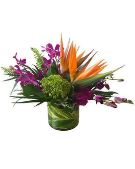 Hawaiian Tropics Flower Arrangement