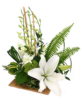 Modern Tropics Flower Arrangement