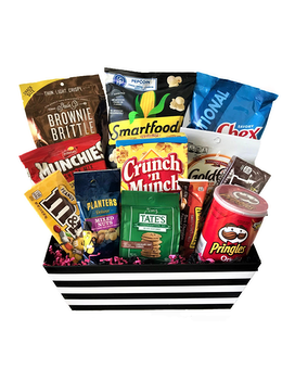 Sweet & Salty Snack Attack Gift Basket