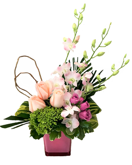 Passionately Pink Flower Arrangement
