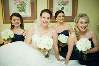 Brooklin wedding flower arrangements