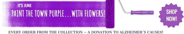 Paint the Town Purple for Alzheimer's Awareness Month
